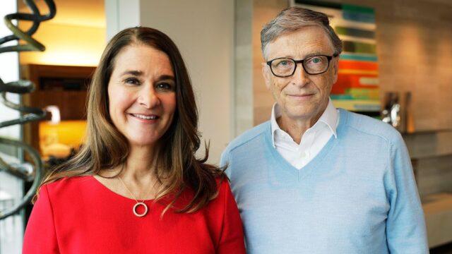 Bill Gates & Wife