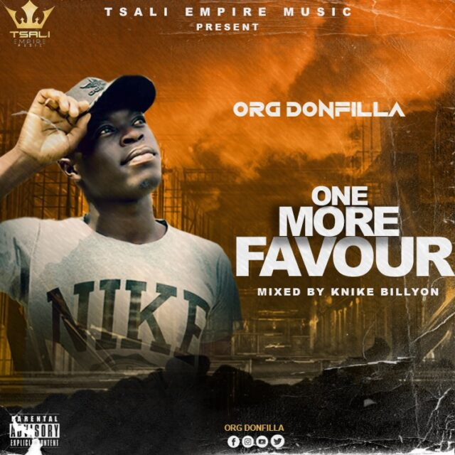 ORG Donfilla - One More Favour