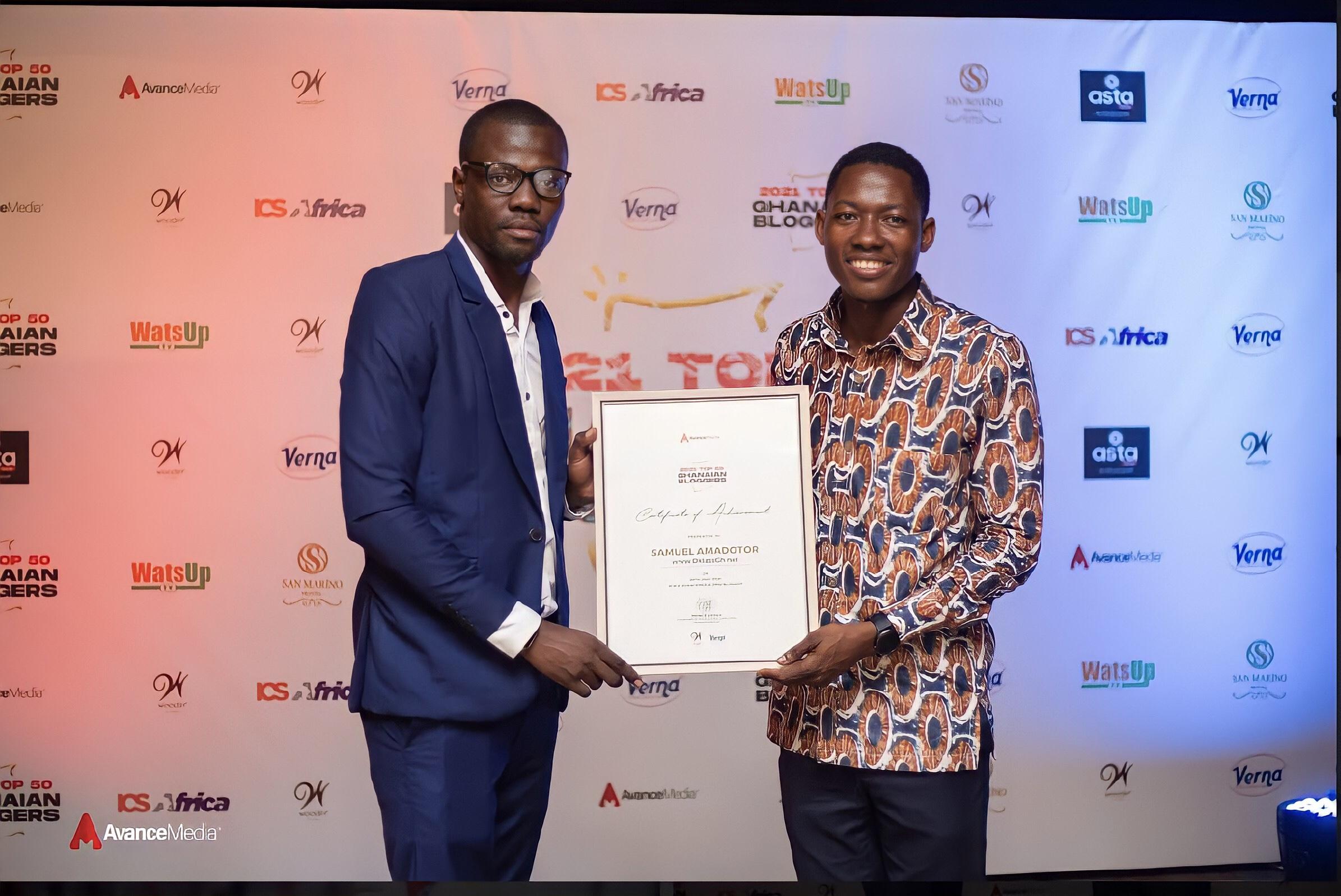 D.Klass GH Listed Among Top 50 Ghanaian Bloggers