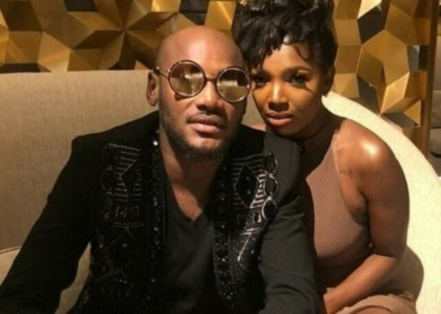 2Face and his wife
