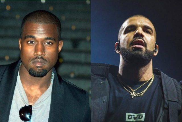 Drake's beef with Kanye West