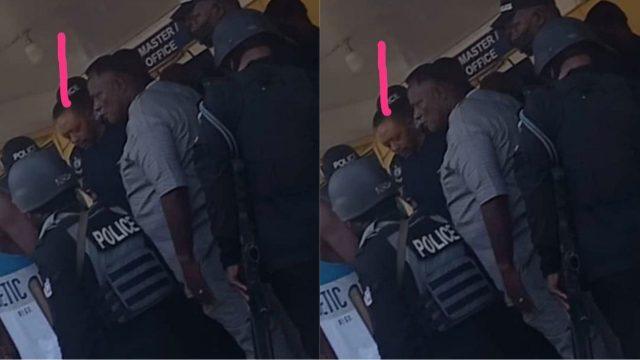 Owusu Bempah arrested
