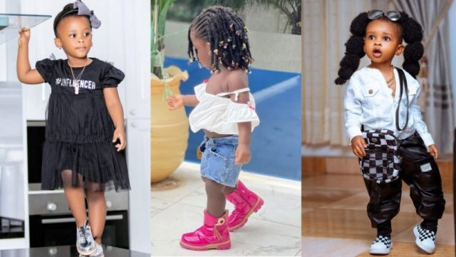 Tracey Boakye's Daughter