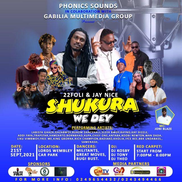 Shukura We Dey Concert