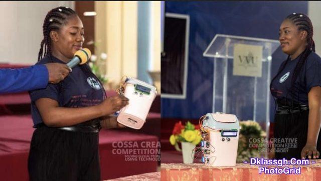 Benedicta Attah Korletey Inverts Automated Smart Dustbin