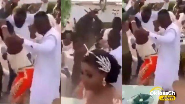 Groom abandons wife