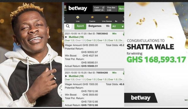 Shatta Wale and Betway exposed