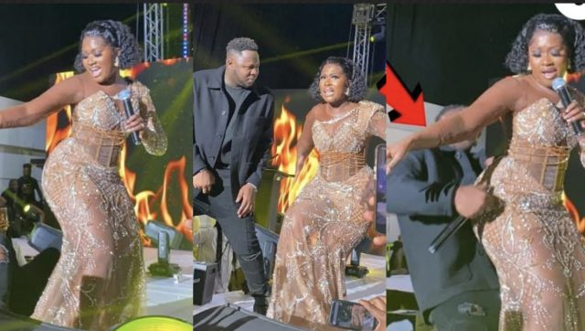 Medikal Fell Off From Stage At Ghana Music Awards UK