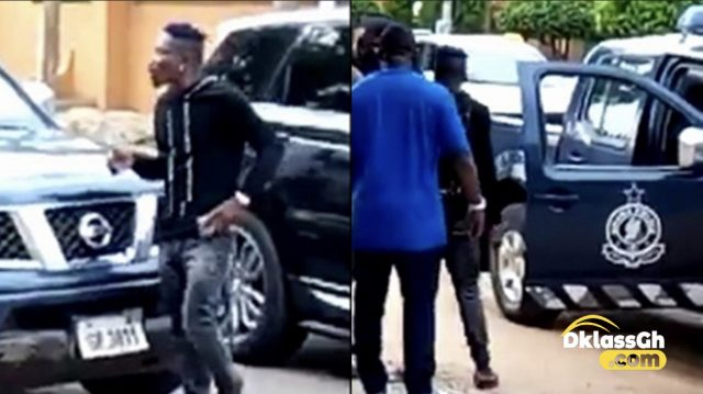 Breaking News: Shatta Wale Arrested over his fake shooting incident